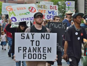 no to frankenfoods